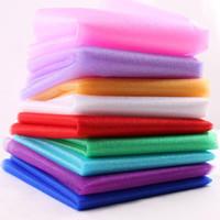 Pas cher Vente! 0,2 * 20M Sheer Cristal Organza Fabrics mariage président Sash Bows Swag Party Decoration 9 couleurs pour choisir