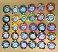 Wholesale 2016 hot bracelet Red Clear Blue Pink Camouflage bracelet mud white and black bead Wildlife silicone bracelets