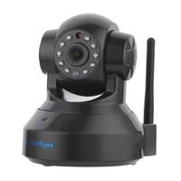 Cámara SunEyes SP-TM01EWP 720P HD Wireless IP P2P Plug and Play Slot infrarrojos de visión nocturna pan / tilt dos vías de audio micro SD
