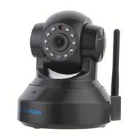 SunEyes SP-TM01EWP 720P HD Cámara IP P2P inalámbrico Plug and Play IR de visión nocturna Pan / inclinación de audio de dos vías Micro SD ranura
