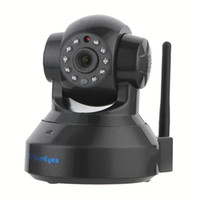 audio protect - SunEyes SP TM01EWP P HD IP Camera Wireless P2P Plug and Play IR Night Vision Pan Tilt Two Way Audio Micro SD Slot