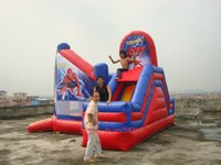 Wholesale Commercial Grade Inflatable Spider man Bouncy Castle Bounce House Jumper Bouncer Outdoor Playground