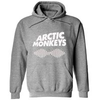 arctic clothing - 2016 New Arctic Monkeys Hoodies Men Hoodie Man Sweatshirt For Mens Women Sound Wave Indie Rock And Roll Band Brand Clothing Street wear