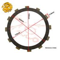 Wholesale Motorcycle Parts Clutch Friction Plates Kit For YAMAHA XVS1100 XVS CP motorcycle xenon kit