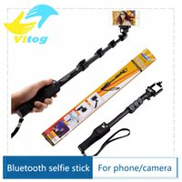 Wholesale Quality Goods yunteng Bluetooth Wireless Extendable Handheld Selfie Stick Monopod With Zoom for iPhone samsung Selfie Sticks