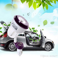 Wholesale Nanum II Car Charger Air Humidifier Purifier Vehicular essential oil ultrasonic humidifier Aroma mist car fragrance Diffuser DHL