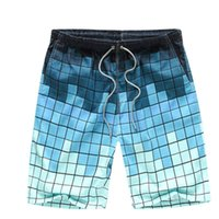 Wholesale New Summer men s fashion casual beach shorts pants men s brand short board surfing multicolor large size quick drying