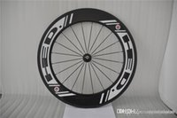 Road Bikes best wheelsets - 2016 Best Selling HED carbon wheels mm New Black Spokes White Decals Bicycle Wheelsets C Full Carbon Bike Wheel Black Spokes Hole
