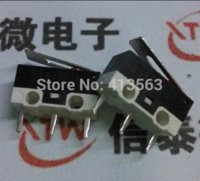 Wholesale 50pcs NEW Pin pitch mm pin mouse switch stalk Common keys mouse micro switch pin button A V