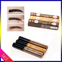 Wholesale Newest Tint brow Eyebrow Gel Colors Cejas Make Up Crayon Sourcils Waterproof Eyebrow half a permanent Tint My Brows Pen Maquiagem