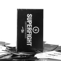 Wholesale Immediate delivery SUPERFIGHT Card Core Deck Superfight Card Super Fighter Game Hallowmas Christmas Gift