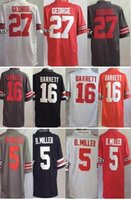 barrett orders - Men s NCAA Limited Jerseys Ohio State Buckeyes George Barrett B Miller Top Quality Drop Shipping Accept Mixed orders cheap jers