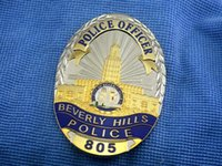 arts officer - The Beverly BeverlyHills Officer bronze badge in Beverly Hills