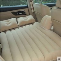 Wholesale New Car Back Seat Cover Car Air Mattress Travel Bed Inflatable Mattress Air Bed Good Quality Inflatable Car Bed