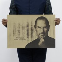 art craft jobs - Steve Jobs Vintage Kraft Paper Movie Poster Home Decor Wall Decals Art Craft Retro Painting