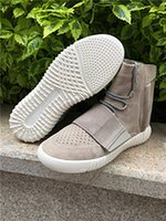 b surface - Original sole surface top quality genuine Kanye Boost Low Coconut light shoes and shoes for men and women color