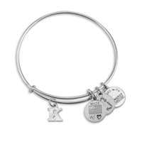 alloy gold wire - 26 letters K T Alex and Ani adjustable Charm statement bracelets gold silver Wiring expandable pendant bangles band cuffs Christmas gift