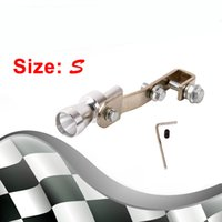 Wholesale Size S Universal Car BOV Turbo Sound Whistle Simulator Sound Pipe Exhaust Muffler Pipe