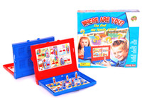 benefit box - where are you The family hide and seek Children board game Parent child interaction benefit intelligence action Baby toys gift box