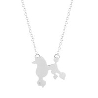 beautiful pet animals - 1pcs New Unique Style Beautiful Dog Animal Charm Necklace Pendant Collares Minimalist Pet Jewelry Gift Necklace for Girls and Women