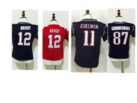 baby patriots jersey - Patriots Toddler Football Jerseys Brady Gronkowski Julian Edelman Baby Shirt Blue Red Stitched Jerseys For Years Old