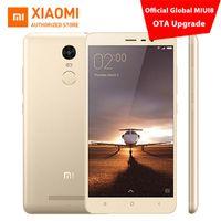 achat en gros de xiaomi phone-Original Xiaomi Redmi Note 3 Téléphone portable Pro Prime 5.5 pouces FHD 3 Go 32 Go 64 bits Snapdragon 650 16.0MP ROM mondiale MIUI8