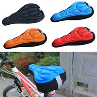 Wholesale High Quality Bicycle Saddle Bike Parts Cycling Seat Mat Comfortable Cushion Soft Seat Pad for Bike Colors