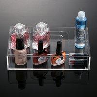 acrylic clear gloss - 2016 New Anti Scratch Fashion Acrylic Clear Makeup Organiser Cosmetic Display Jewellery Storage Case for Lip Balm Lip Gloss Mascara MN C