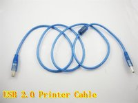 Wholesale Printer Cable blue M USB data cable printer line high quality up
