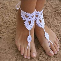 bb jewelry - Hug Me Jewelry Women s Lace Anklet cotton handmade Anklet Dance Yoga special beach foot accessories Anklets BB