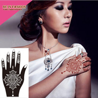 big rose tattoos - Professional Big Diy Tool Henna Glitter Temporary Tattoo Stencil Lace Rose Lotus Flower Women Body Hand Paint Templates S103L