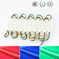 ads abs - high bright waterproof smd ABS RGB LED modules with leds for high building ads board lighting decoration