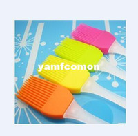 Wholesale Postshipping Silicone Basting Cooking Pastry Brush Kitchen heat resistance silicone BBQ brush