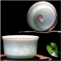beautiful teapot - Kung Fu Tea Cup High quality elegant gaiwan Beautiful and easy teapot kettle Coffee Cup
