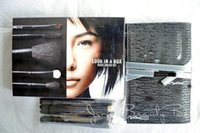 advanced wood - Look in A Box M Advanced Brush Kit Brush With Leather pouch Basic Brush Kit With Bag Limited Edition Stock DHL Free