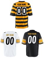 Cheap Cheap Steelers customize high quality embroidery football jerseys #00 elite jerseys any name any number VICK WARD wholesale free shipping