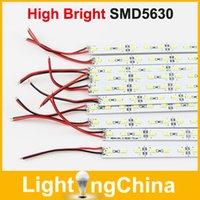 Wholesale 100pcs SMD LED Bar Lights DC volt Warm White K Cool White K Hard Strip Light LED Rigid Strip