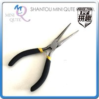 Wholesale DHL PIECE FUN D Metal Puzzle Silver disassembled tool cutting Pliers pinchers set Adult model educational toy gift NO PF