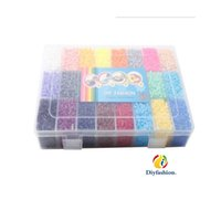 animal tweezers - Colors hama Beads box set of mm perler Fuse Beads with Iron Paper and Tweezers puzzle Diy toy DIYFASHION