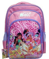 Wholesale 50cs Hot Sale Lovely Girl School Bag Cartoon Kids Backpack Students Rucksack G298