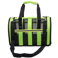 Wholesale Animals Carriers Soft sided Pet Carrier Pet Travel Portable Bag Home for Dogs Cats and Puppies