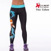 Wholesale New Arrival Single Printing Casual Slim Women Sport Tight Pants Fashion Compression Legging Female Leggings Sport Yoga Pants Yog