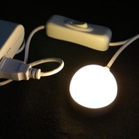 Wholesale 3W W Mini USB power led night light with switch Self adhesive magnet bed desk light lamp ceiling indoor lighting