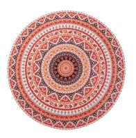 Wholesale Round Beach Blanket Indian Tapestry Wall Hanging Gypsy Bedspread Bohemian Beach Towel Throw Yoga Mat cm x cm