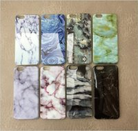 Wholesale New arrival Marble Skin Back Cover Cases Soft TPU Protector Mobile Phone Case Shell For iphone S SE Plus inch