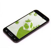 Goofón teléfono clon S7 EDGE curvas de pantalla quad core MTK6580 5,5 pulgadas Android 5.1 1G 4G mostrar 64 GB mostrar falsos 4G lte Celular