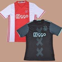 ajax football club - 2016 AJAX Club Team Home Red Away Black Football Soccer Jerseys Shirt Muric Diederik Boer Klaassen Fischer Van der Hoorn Milik Ghazi
