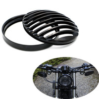 Wholesale Metal Headlight Grill Cover Fits Harley Davidson Sportster XL X48 Black YY477