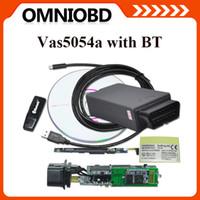 automotive quality - 2016 High Quality Vas5054a ODIS VAS A VW vas5054a Bluetooth UDS ODIS Vas5054 Support MultiLanguages FreeShipping