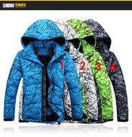 Wholesale 2016 new RLX mesn down coat Camouflage colorful print plus size down jacket